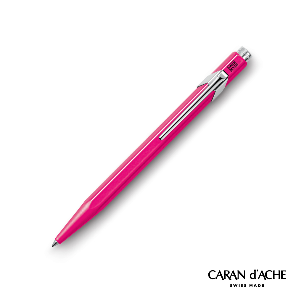 CARAN dACHE 卡達 - Office│line 849系列 螢光桃紅 原子筆