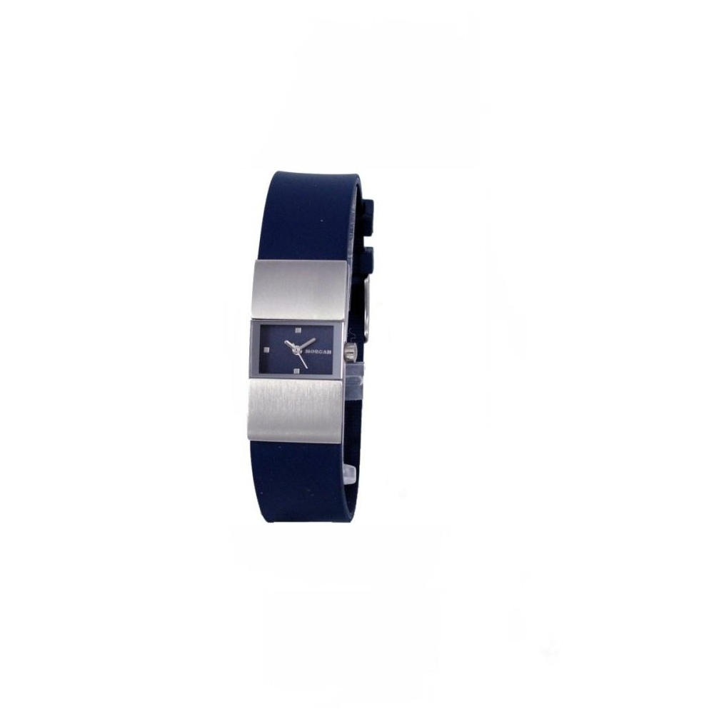 MORGAN 都會雅仕時尚女錶-藍/18mm