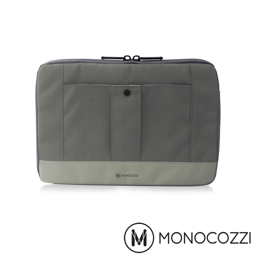 MONOCOZZI Gritty 保護內袋 for Macbook 13 吋-深灰