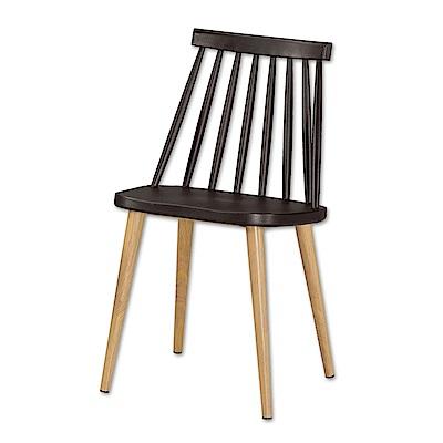 Bernice-諾丹北歐風餐椅(四入)(五色可選)-43x48x78cm