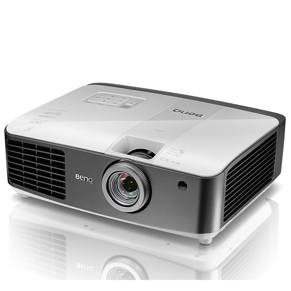BenQ 2200流明3D 1080P進階大變焦三坪投影機(W1400)
