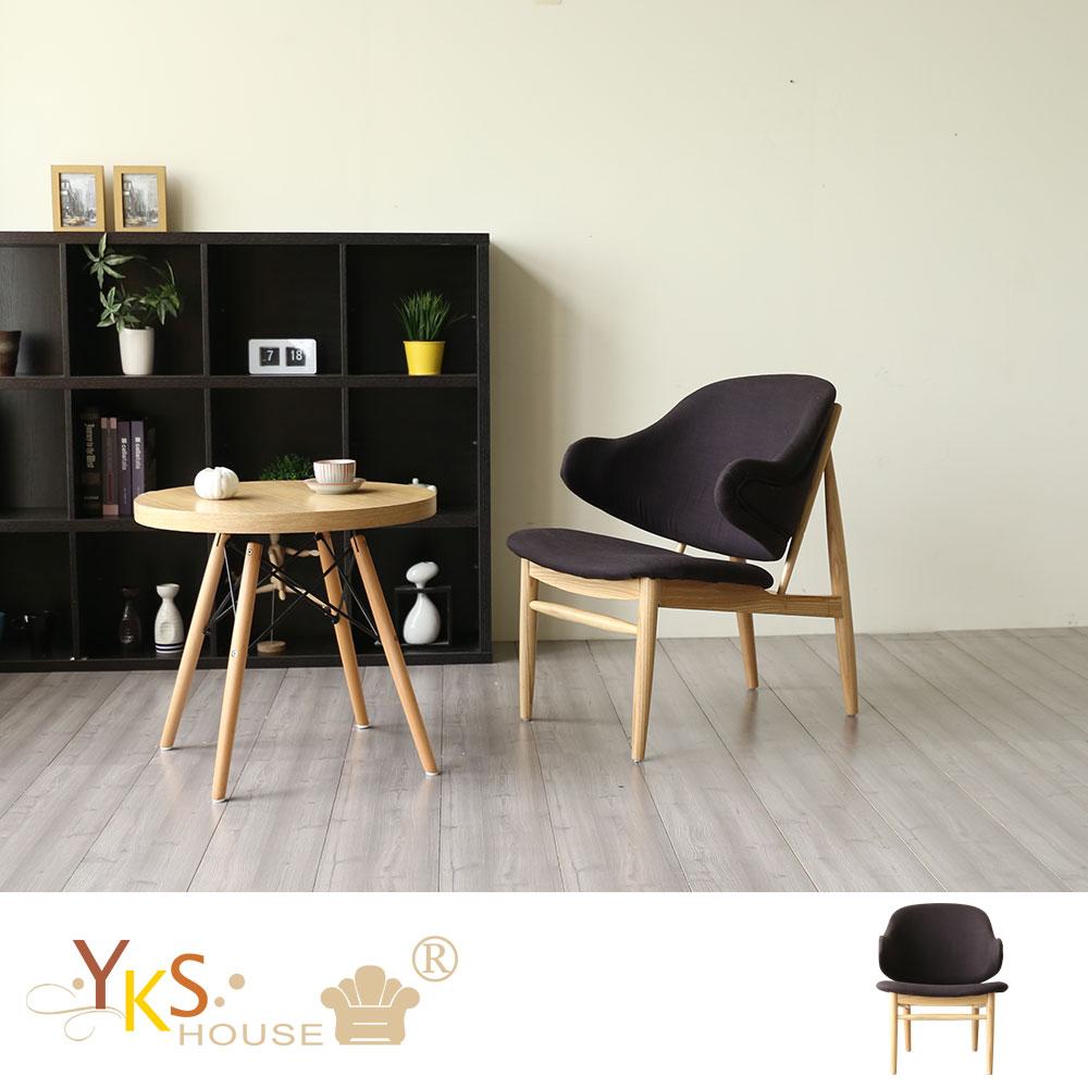 YKSHOUSE-Duke 杜克北歐風單人造型沙發