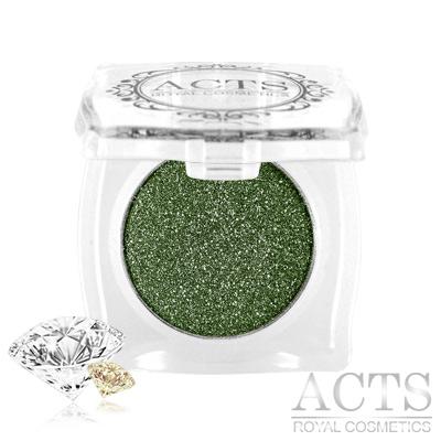 ACTS維詩彩妝 魔幻鑽石光眼影 墨綠晶鑽D323