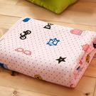 美夢元素 純棉針織天然纖維透氣涼毯-100*150cm(異想世界)
