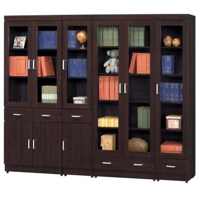 時尚屋 長榮7.8尺書櫃 寬237cm 多色可選