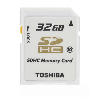 TOSHIBA ULTRA SDHC 32GB CLASS10 高速白卡(平行輸入)