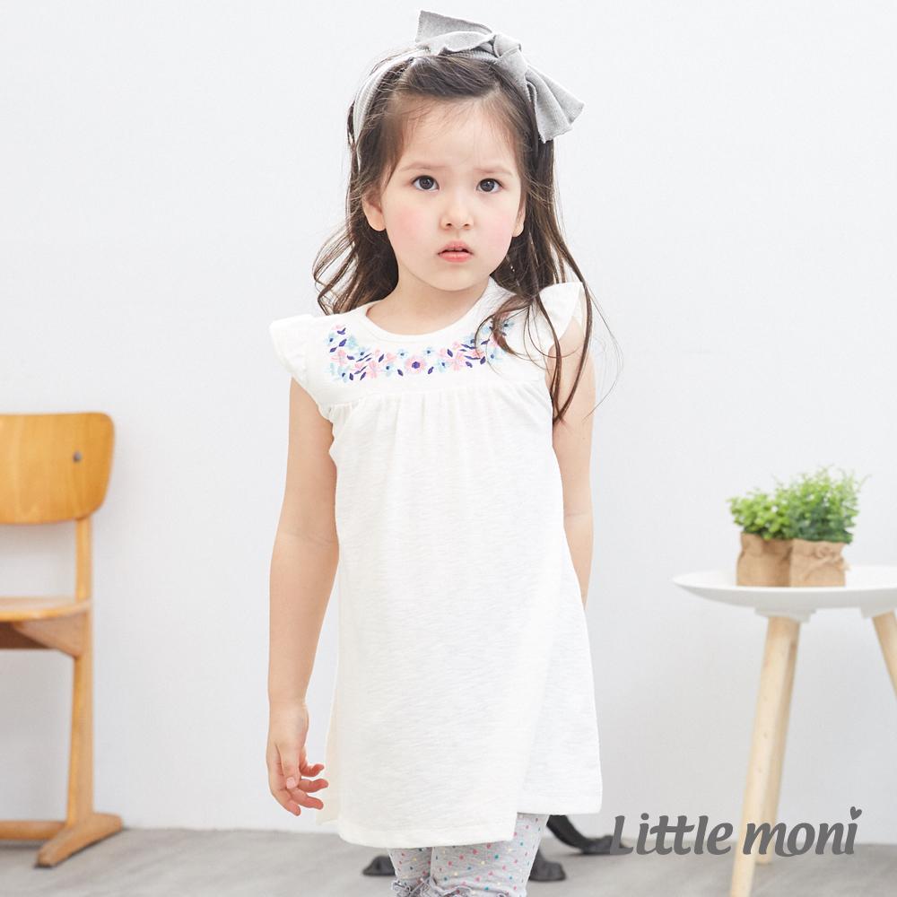 Little moni 繡花洋裝 (2色可選)