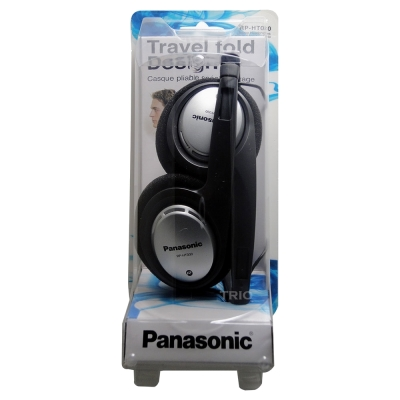 Panasonic頭戴式可折疊耳機RP-HT030