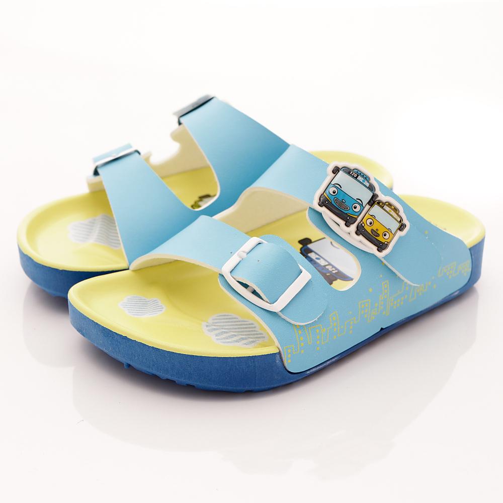TAYO小巴士-休閒涼鞋款-TSE4712藍黃(小童段)T1
