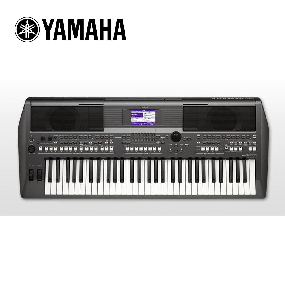 YAMAHA PSR-S670 61鍵 自動伴奏琴+送原廠專用琴袋