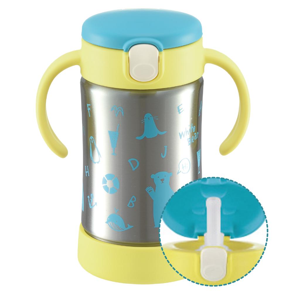 【Richell 利其爾】不鏽鋼吸管保溫杯 (共2款)
