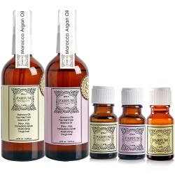 Parfum 巴黎帕芬 經典香水摩洛哥護髮油5件組