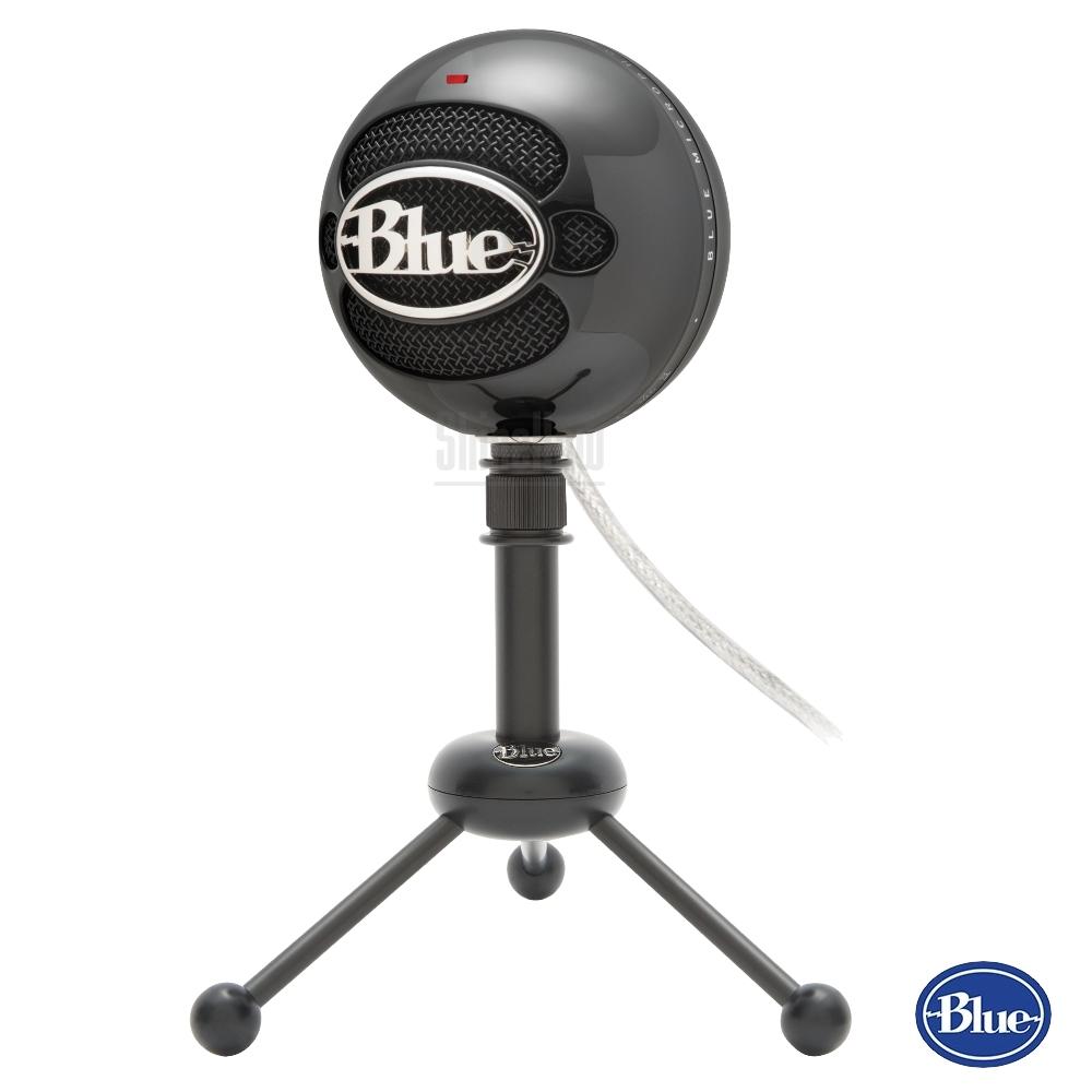 【公司貨】美國BLUE Snowball雪球USB麥克風 炫黑色