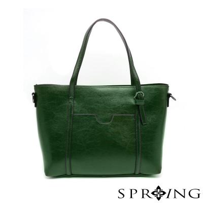 SPRING-清新時尚兩用側肩包-綻放綠