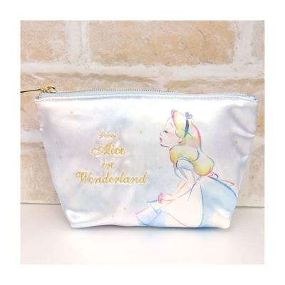 SHO-BI  迪士尼公主幻想微光系列緞面化妝包(愛麗絲)