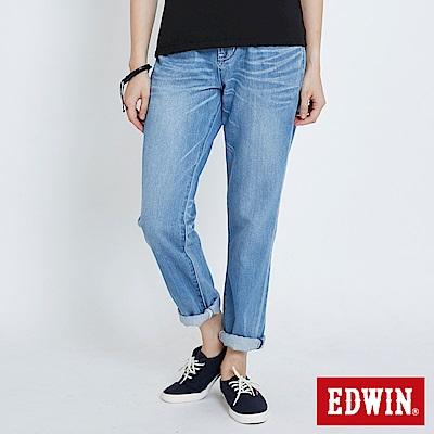 EDWIN MISS503隨性男友褲-女-漂淺藍