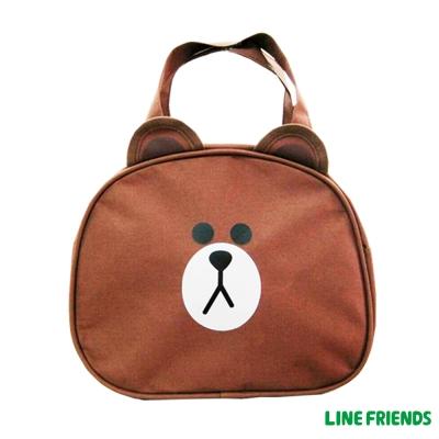 LINE FRIENDS  造型便當袋_熊大LI5357A