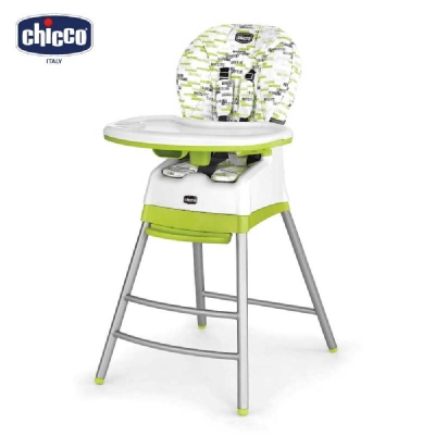 chicco-Stack三合一多 成長高腳餐椅-奇異果綠