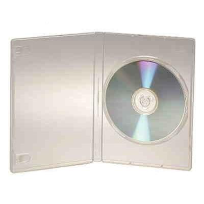 DigiStone  1 片裝超優精裝軟盒白色透明  100 PCS
