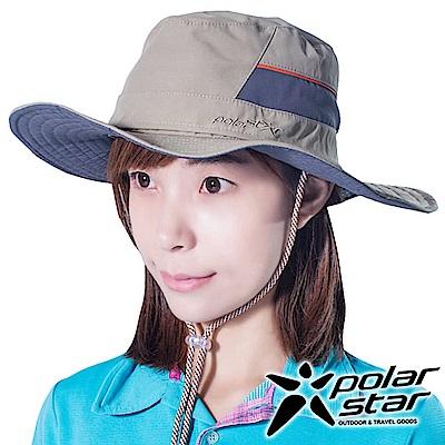 PolarStar圓盤牛仔帽遮陽帽卡其P16516