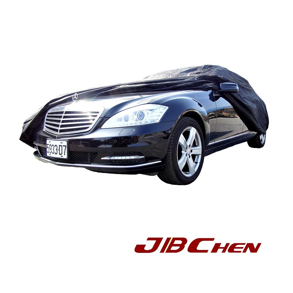 JBChen捷寶成 黑風 透氣車罩 中 大型四門 房車適用