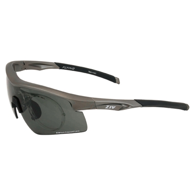 ZIV運動偏光太陽眼鏡 可拆換式光學內視鏡系列/霧灰#B104005
