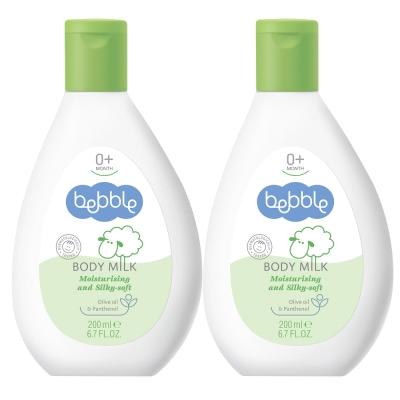 Bebble貝朵 橄欖滋養身體乳200ml(2入組)