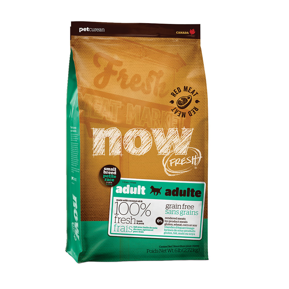 Now! 紅肉無穀天然糧 小型犬配方 6磅