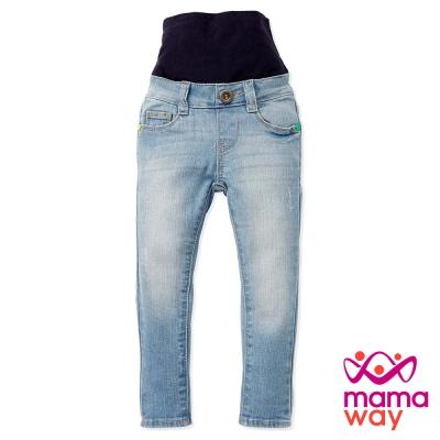 Mamaway Baby超彈力牛仔護肚褲(共二色)