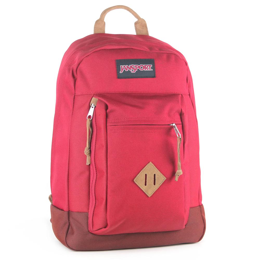 JanSport電腦背包(REILLY)-聖誕紅