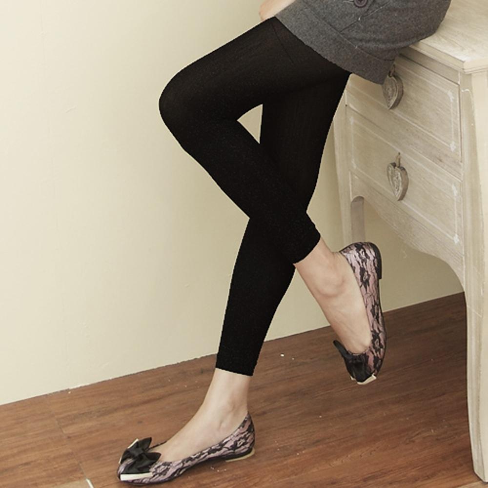 I-shi 美型窈窕寬版鬆緊腰顯瘦9分褲
