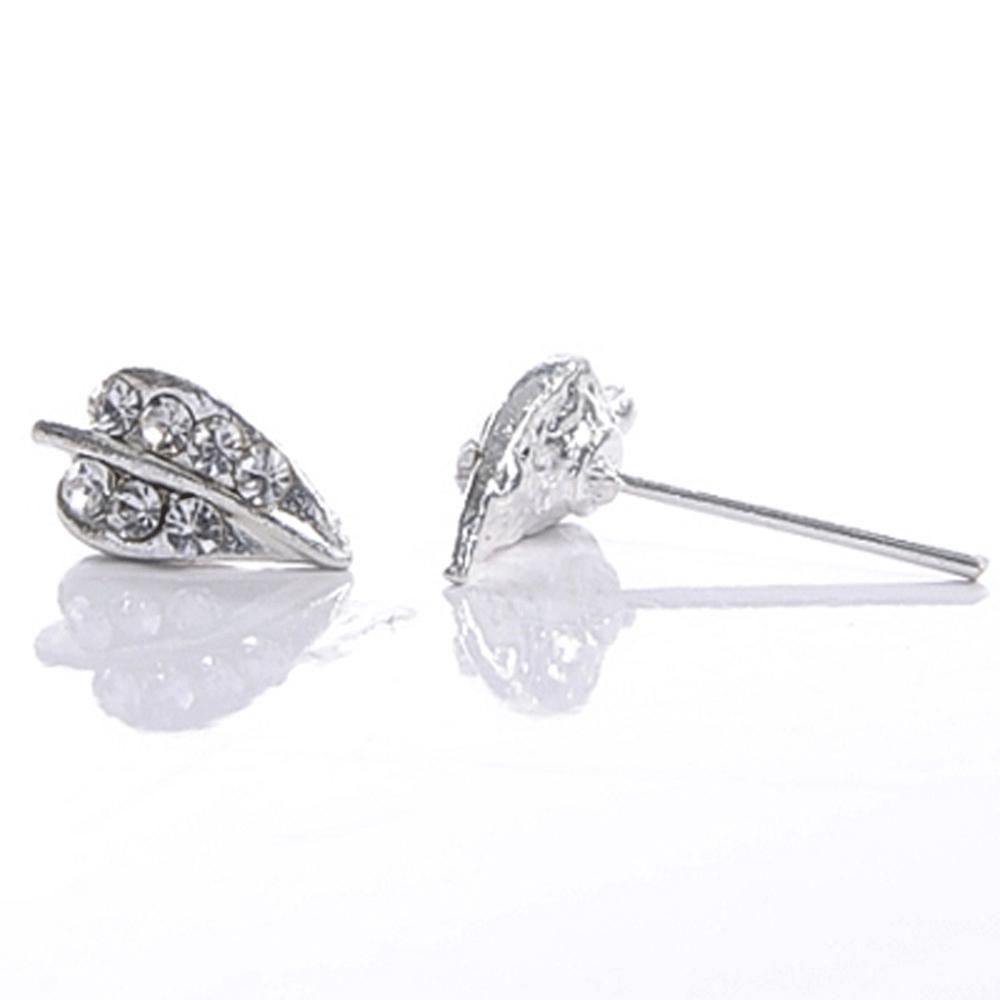 Aimee Toff 浪漫春雨葉脈造型耳環