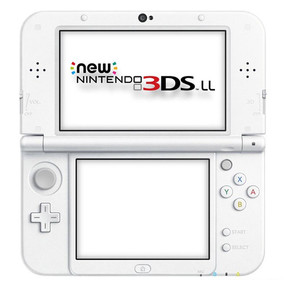 任天堂 New 3DS LL 日規主機 加變壓器、保護貼