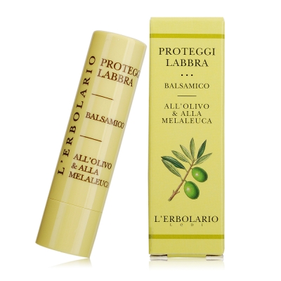 L-ERBOLARIO 蕾莉歐 橄欖滋潤護唇膏4.5ml