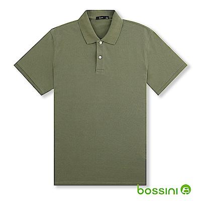 bossini男裝-純棉POLO衫18霧綠