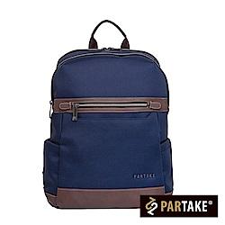 PARTAKE-B4都會時尚系列-多功能後背包-藍-PT17-B4-81RB