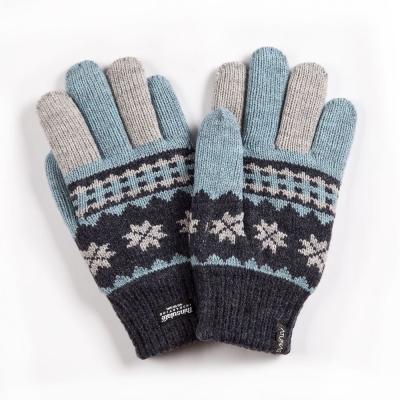 【ATUNAS 歐都納】雪花隨風飄 3M 保暖手套 A-A1233 藍/綠/灰