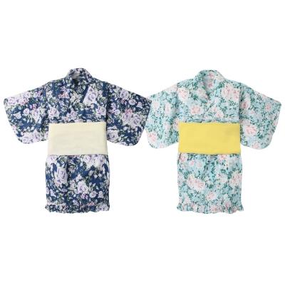 baby童衣 日式和風女童和服套裝 附腰帶 60250