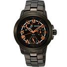 SEIKO 星光魔法全日曆腕錶(SPA805P1)-IP黑x玫瑰金時標/33mm
