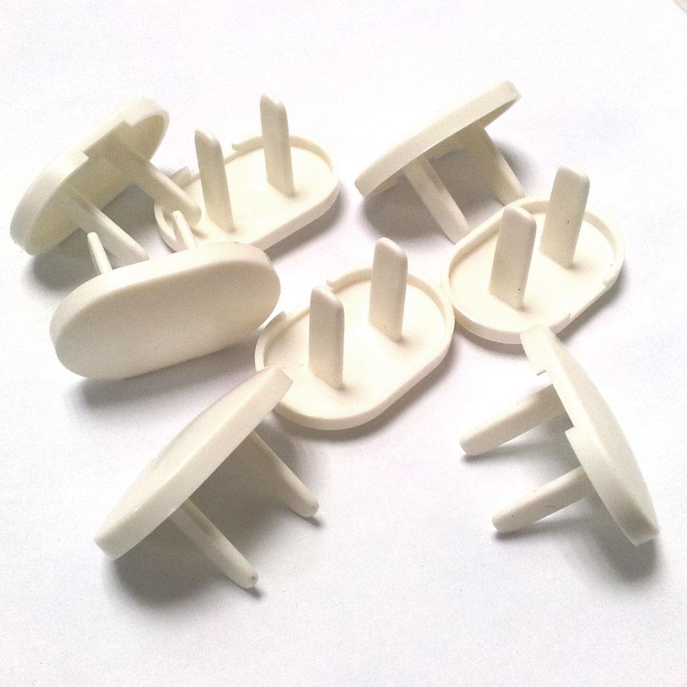 (超值20入)Easy 扣電源插座安全防護蓋 防護套 防觸電