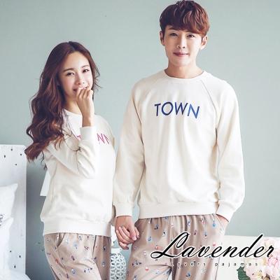 睡衣 簡約居家情侶款睡衣(男)Lavender