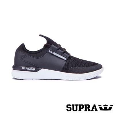 SUPRA Flow Run系列男鞋-黑/白