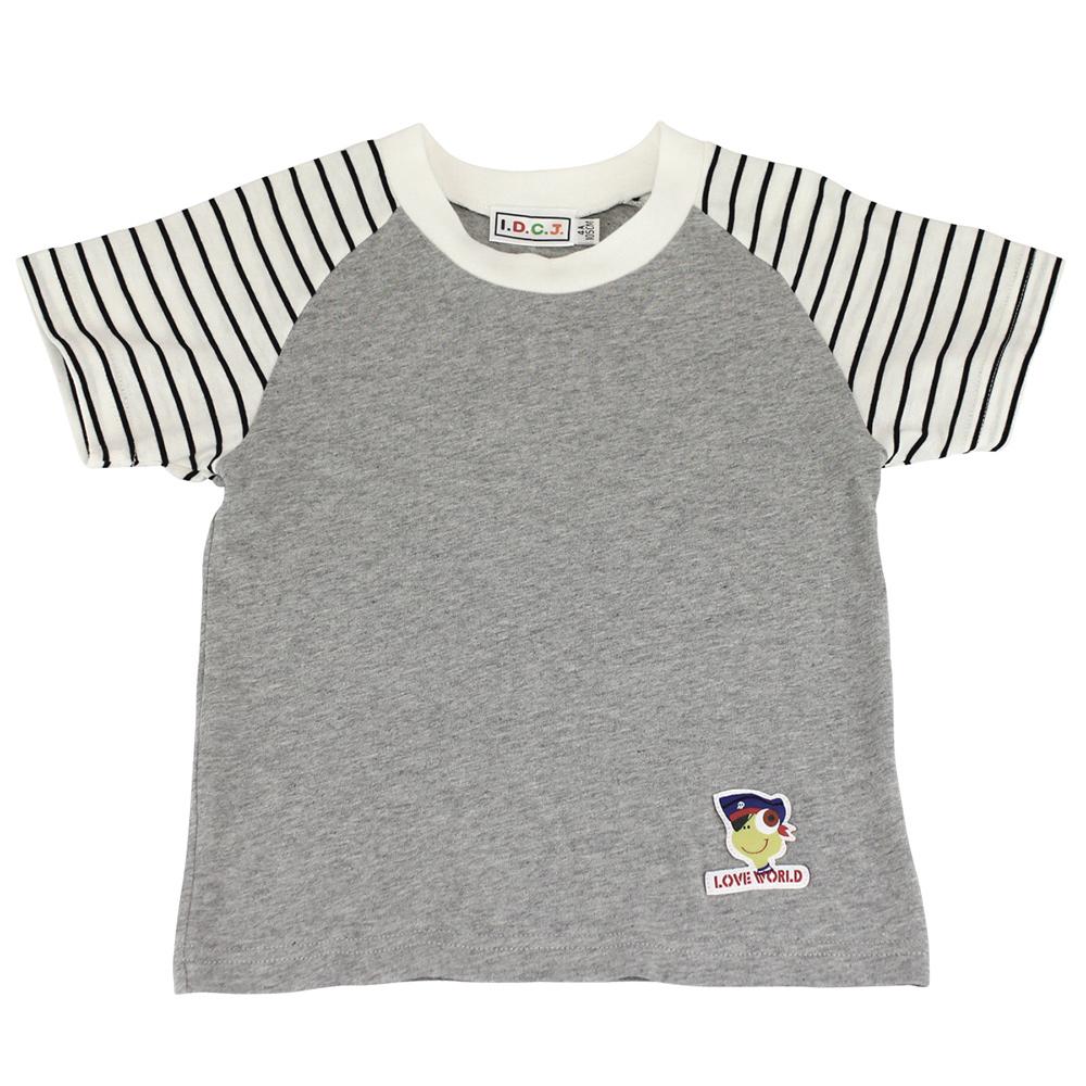 愛的世界 MYBEAR 夏令營純棉圓領休閒T恤/8~12歲