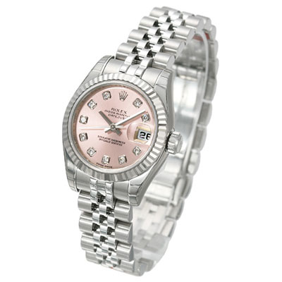 ROLEX 勞力士 Datejust 179174G 蠔式恆動日誌型女錶-粉紅/26mm