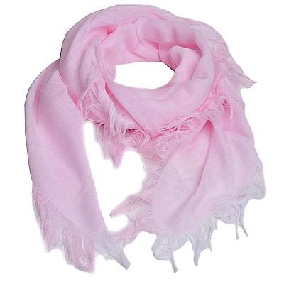GUCCI SL GG LOGO BEAR系列造型正方形圍巾(256282/粉紅)
