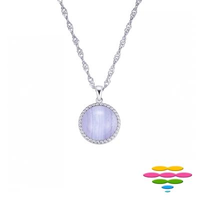 彩糖鑽工坊 10K 紫瑪瑙項鍊 Purple Agate項鍊