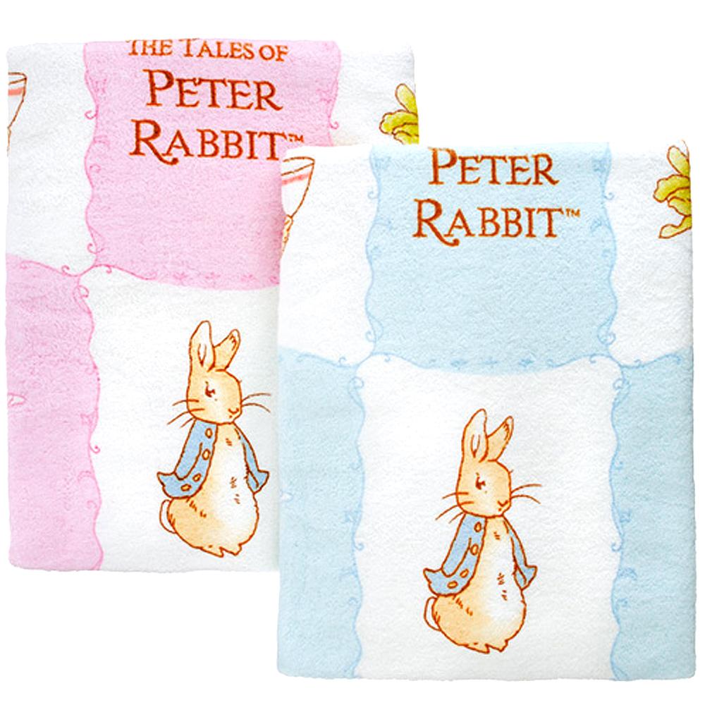 比得兔印花大浴巾(粉紅)
