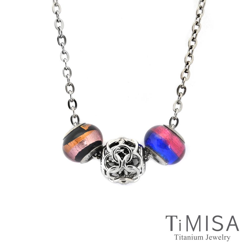 TiMISA 結好緣 純鈦串飾 項鍊