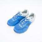KENBOO(男)- 深呼吸 透氣網紋拼裝撞色慢跑鞋-白藍