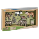 Wenno動物模型 動物系列 亞洲動物6入 WAS06001
